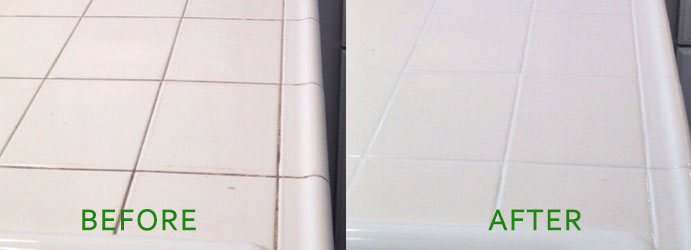 Grout Recoloring and Sealing Service