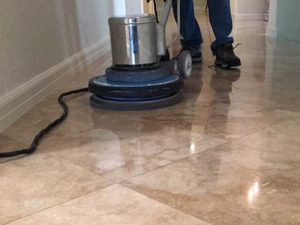 Travertine Tile Cleaning